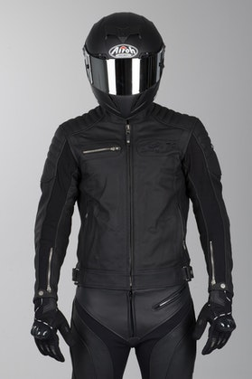 IXS Quentin Leather Jacket Black