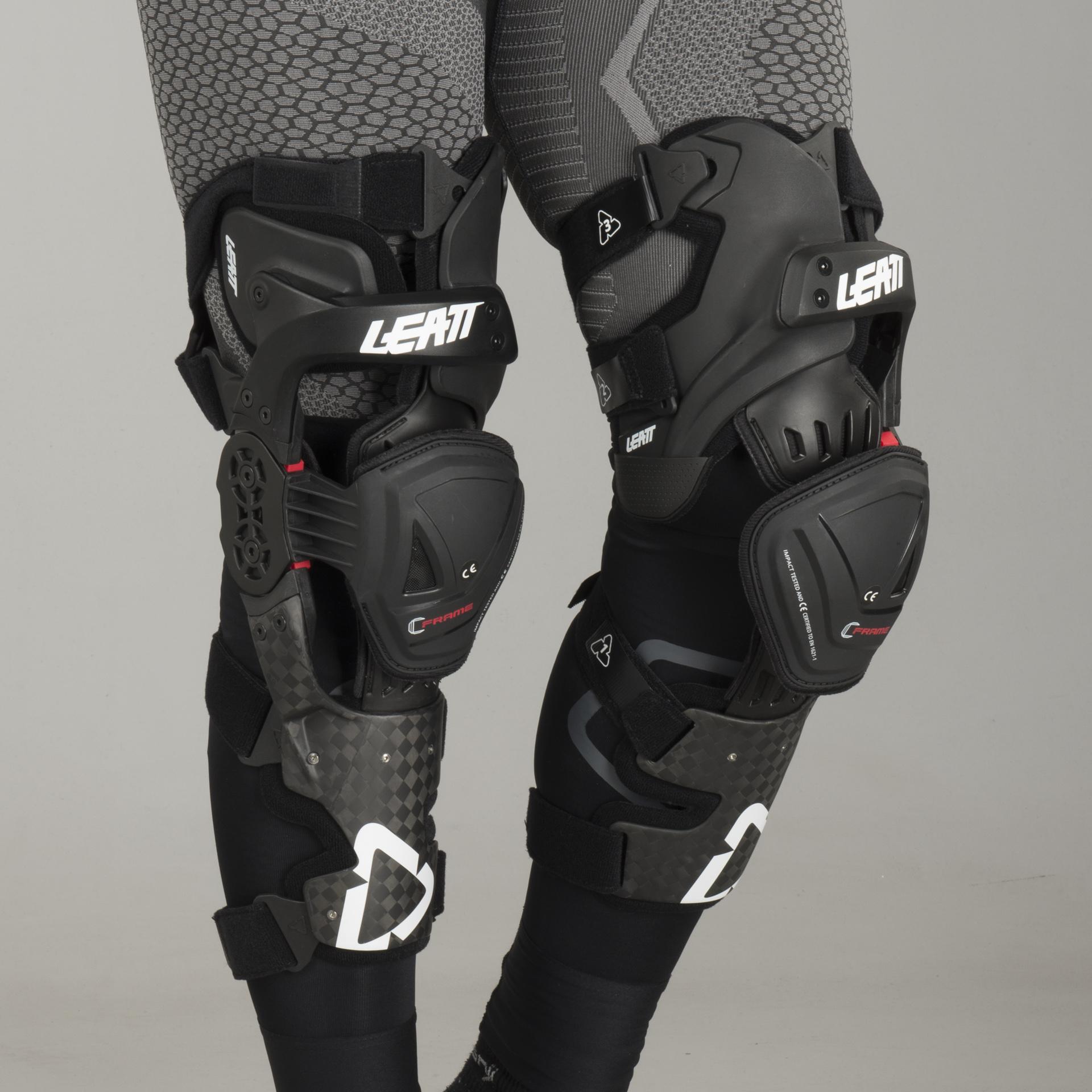 Leatt C-Frame Pro Carbon Knee Braces-S//M
