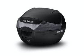 Topboks Shad SH33 + Monteringssæt, Sort