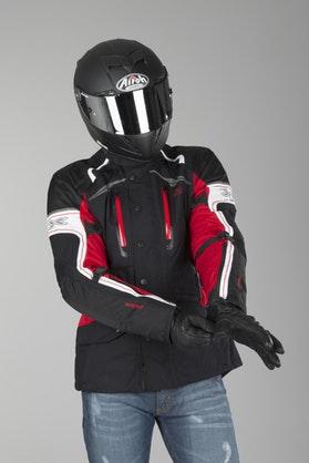 IXS Montgomery GTX Jacket Black-Red-White