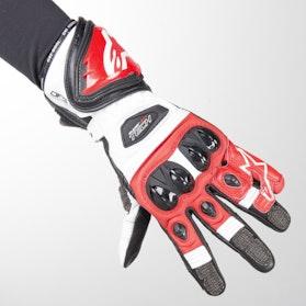 Handsker Alpinestars Supertech 2 Sort-Hvid-Rød
