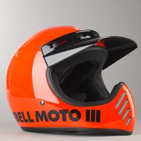 Kask Bell Moto 3 Classic Pomarańczowy Fluorescencyjny