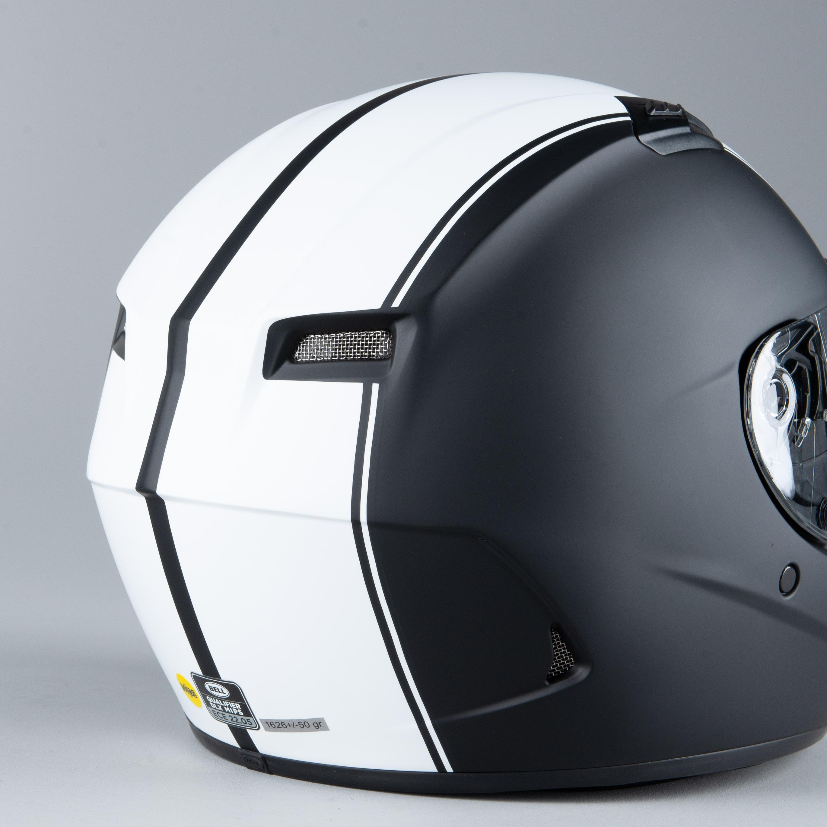 Bell Qualifier DLX MIPS Full Face Motorcycle Helmet Solid Matte Black
