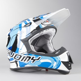 Kask Cross Suomy Mr Jump Vortex Niebieski