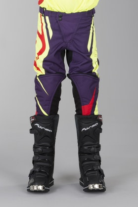 Acerbis Spellblast MX Youth Motocross Pants Yellow-Purple
