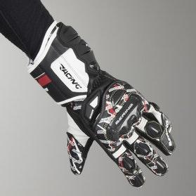 Rękawice Bering Snip-R Czarno-Biało-Czerwone