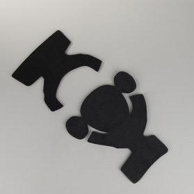 Części zamienne ochraniacz kolan EVS Axis prawy