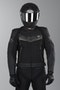 IXS Rockford Leather Jacket Black-Titanium-Gray