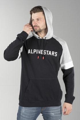 Hættetrøje Alpinestars Leader, Sort