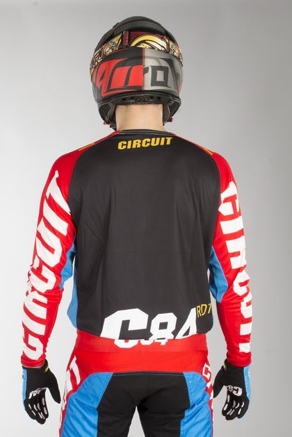 Circuit Oceano MX Jersey Red-Blue