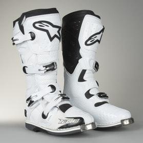 Alpinestars TECH 8 RS Motocross Boots White