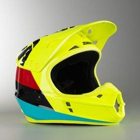 Kask Cross Shift Whit3 Tarmac ECE Neonowy Żółty MX 17