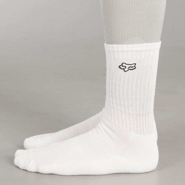 Ponožky Fox Crew Bílé