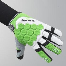 On Board Kid Kx-3 MX Gloves Green-White-Black