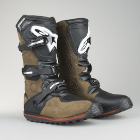 Alpinestars Tech T Trial Off-Road Boots Oiled Brown