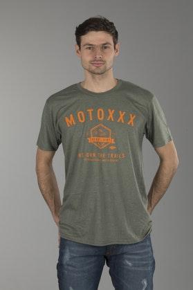 T-shirt O'Neal Moto XXX Evolve Zielony