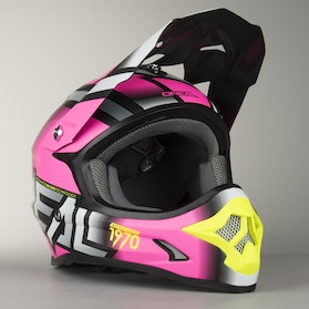 Kask Cross O'Neal 3-Series Radium Różowy
