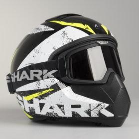 Kask Shark Vancore Braco Czarno-Biało-Żółty