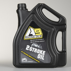 A9 2T Racing Semi synthetic 4L engine oil