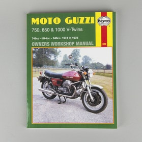 Haynes Moto Guzzi Repair Manual (search by model)