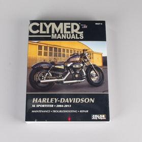 Reparationshåndbog Clymer Harley Davidson søg på model
