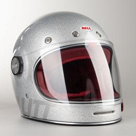 Kask Bell Bullitt DLX Solid Srebrny Błyszczący