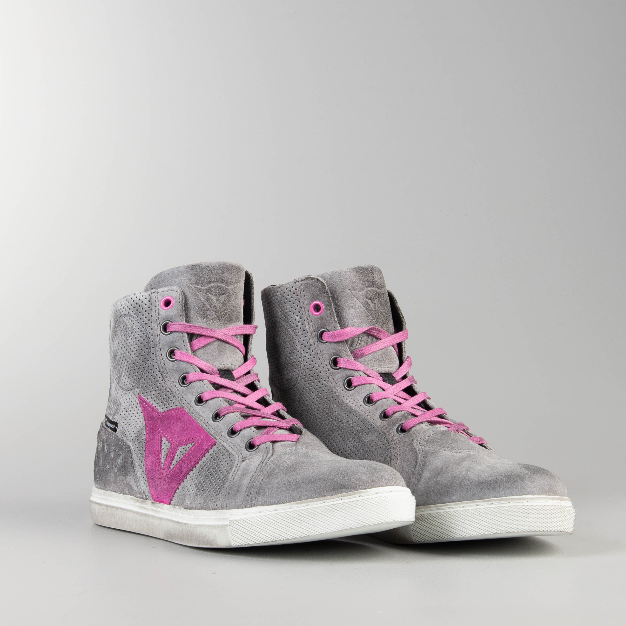 Dainese Street Biker Air Women's Shoes Grey Orchid Now 15