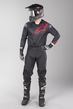 Alpinestars Venture R MX Clothes Black-Red