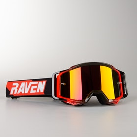 Gogle Cross Raven Sniper Podwójne Soczewki Crimson Echo Czerwona Lustrzanka