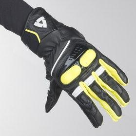 Rękawice Revit Hyperion Czarno-Neonowo-Żółte