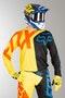 Bluza Cross Fox 360 Preme Czarno-Żółta MX 18