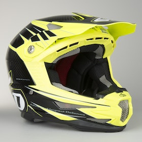 6D ATB-1 Bike Helmet Attack Yellow