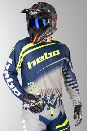 Bluza Cross Hebo Stratos Enduro-Cross Niebieska