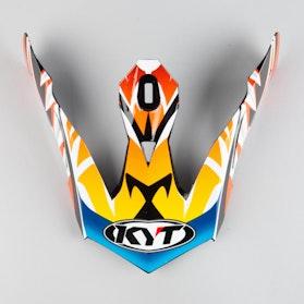 Daszek do Kasku KYT Skyhawk Temper Czerwony