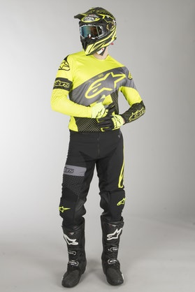 Alpinestars Racer Tech Atomic MX Clothes Black-Grey-FlouYellow