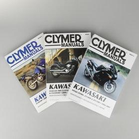 Książka serwisowa Clymer Kawasaki Szukaj według modelu