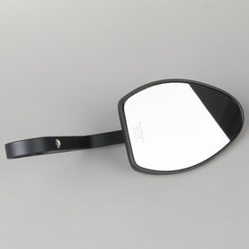 Highsider Ferrara Bar End Rearview Mirrors Black