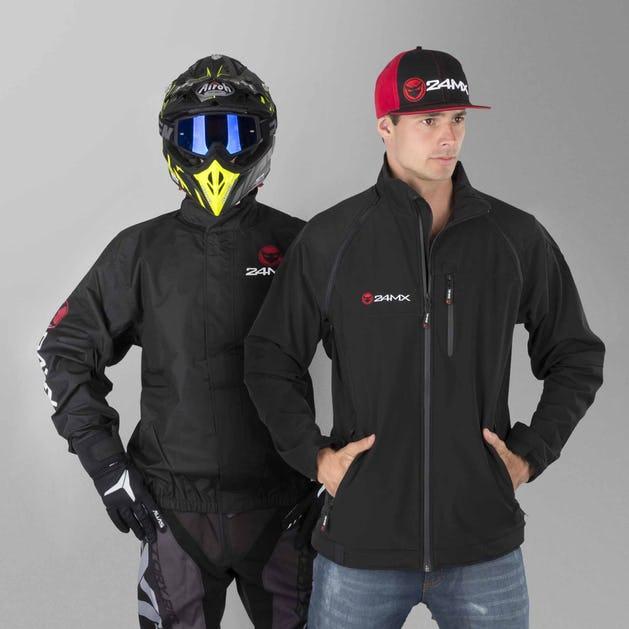 24MX Team Waterproof Windbreaker & Softshell Jacket