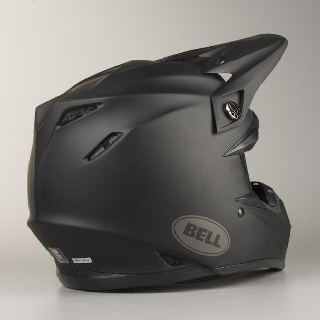Bell Moto-9 MIPS Intake MX Helmet Matte Black