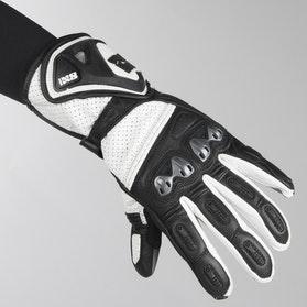 IXS Sport RS-100 Gloves Black-White