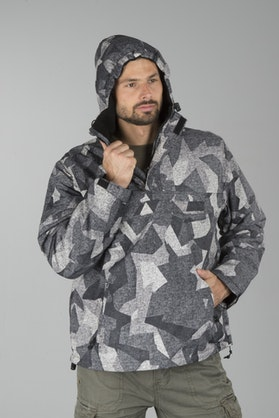 Bunda Brandit Windbreaker Night Camo