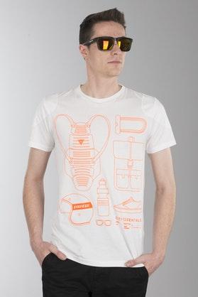 T-Shirt Dainese City Pack Biały