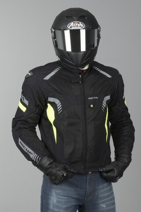 Richa Airforce Jacket Black-Fluorescent Yellow