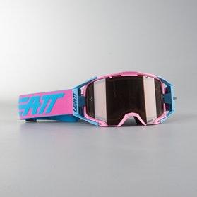 Leatt Velocity 6.5 MX Goggles Pink-Teal