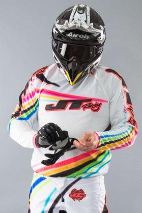 JT Racing Flex Jersey Flow White