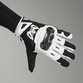 Alpinestars SMX-2 Air Motorcycle Gloves - Carbon Light Grey