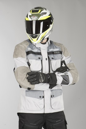 IXS Tour LT Montevideo-Air 2.0 Jacket Grey