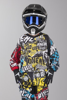 O'Neal Youth Element Wild MX Jersey Multi