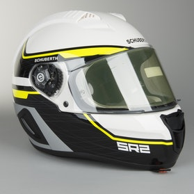 Schuberth SR2 Lightning Helmet Yellow
