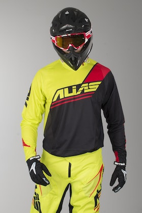 Alias A1 Jersey Analogue Black-Chartreuse
